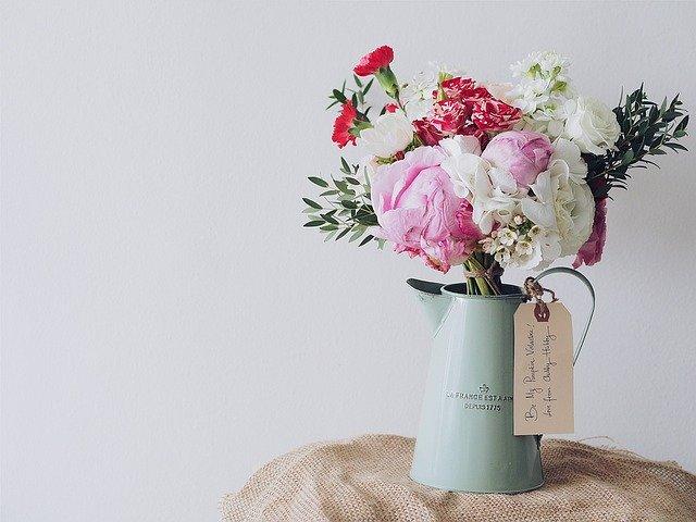 kolorowy wazon