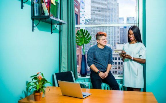 nowoczesny wystrój biura