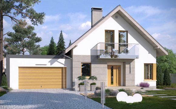 Wysokiej jakości domy nowoczesne Studio Krajobrazy.