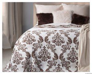 Sypialnia urządzona w stylu vintage