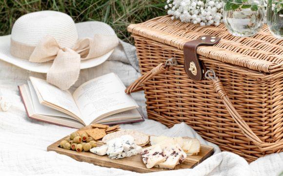 kosze piknikowe z wikliny