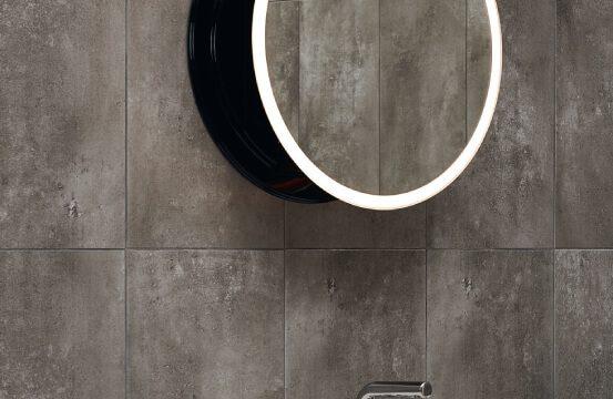 lustro płaskie z oświetleniem miior sun 50 cm